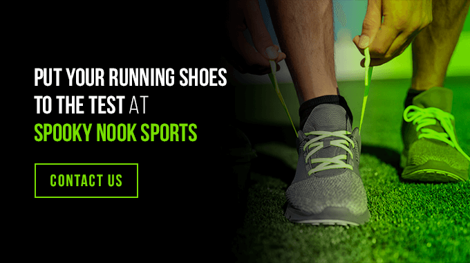 put your running shoes to the test