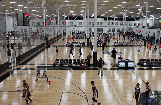 The Spooky Nook Sports Basketball Facility