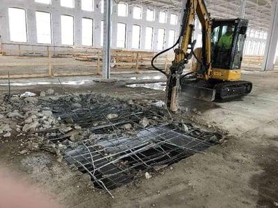 Demolishing 2nd Floor