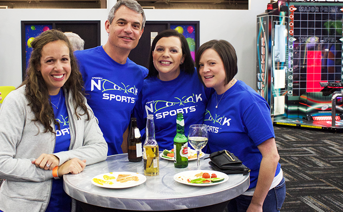 Donegal Insurance attending a corporate/ business event at Nook Meetings.
