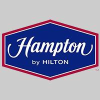 Hampton by Hilton Manheim Logo