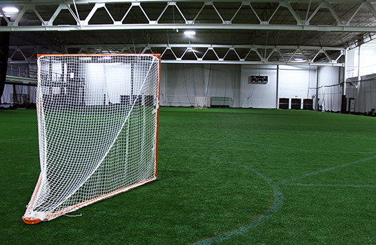 The indoor Lacrosse facility at Spooky Nook Sports