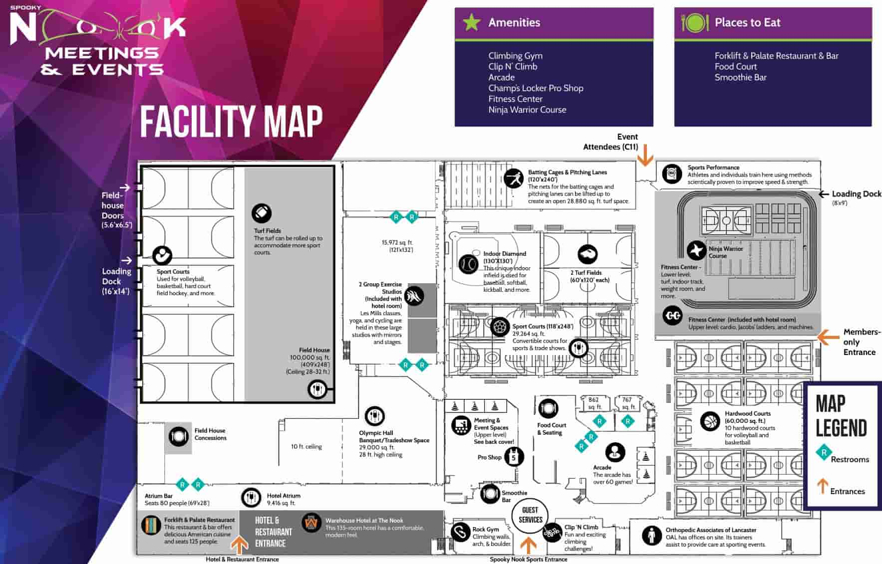 Meeting Planner bifold inside map-1