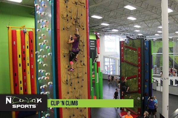 Clip N Climb at Spooky Nook