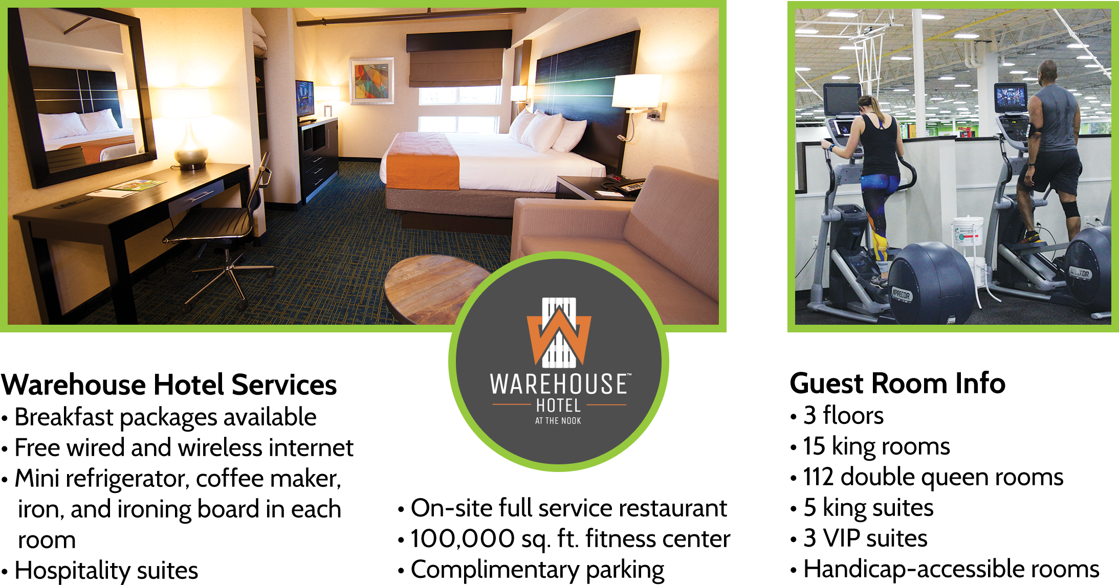 Warehouse Hotel at Spooky Nook