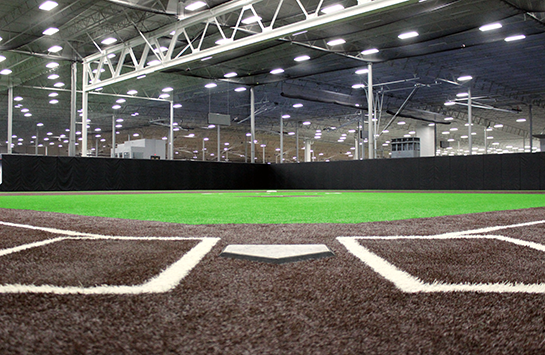 View our indoor softball facility
