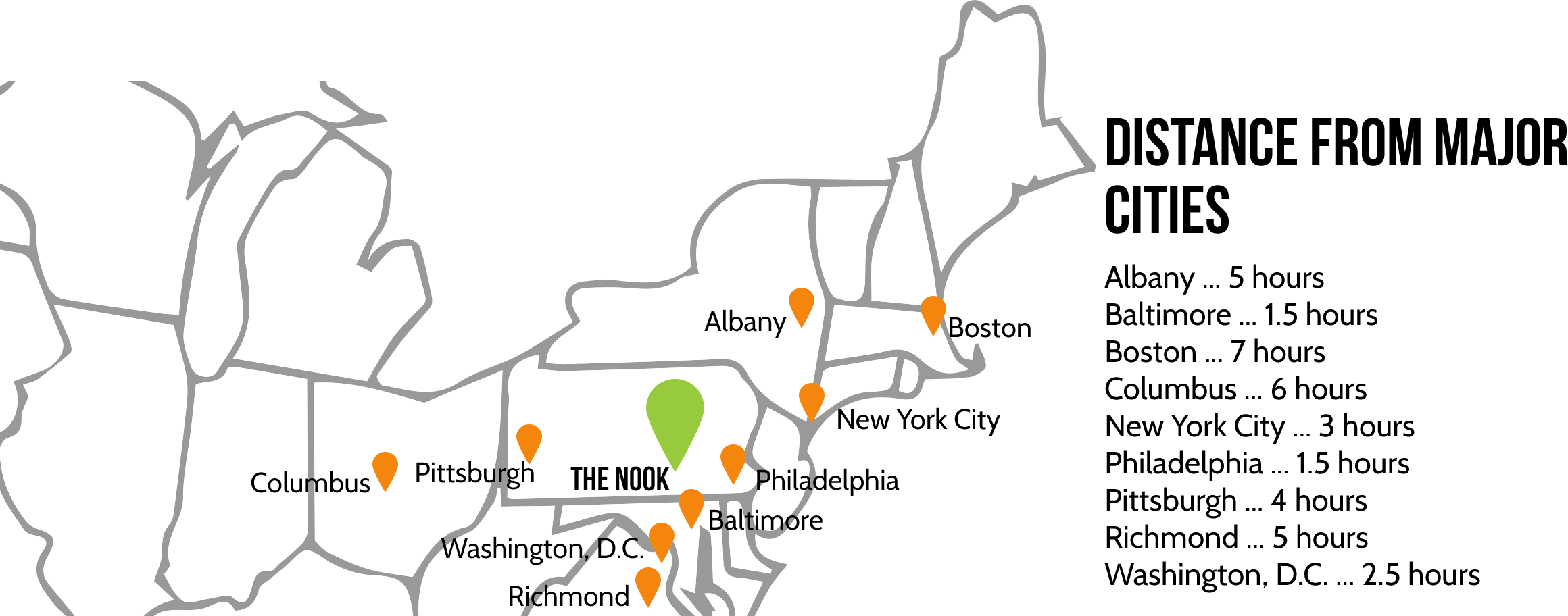 Spooky Nook Map