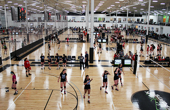 Spooky Nook Sports Volleyball Main Facility