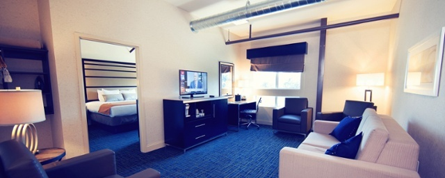 Warehouse Hotel suite room