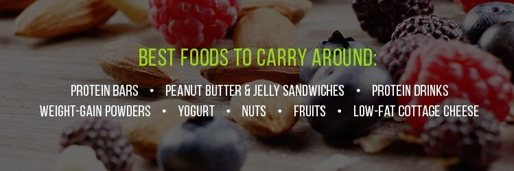 best foods to carry around