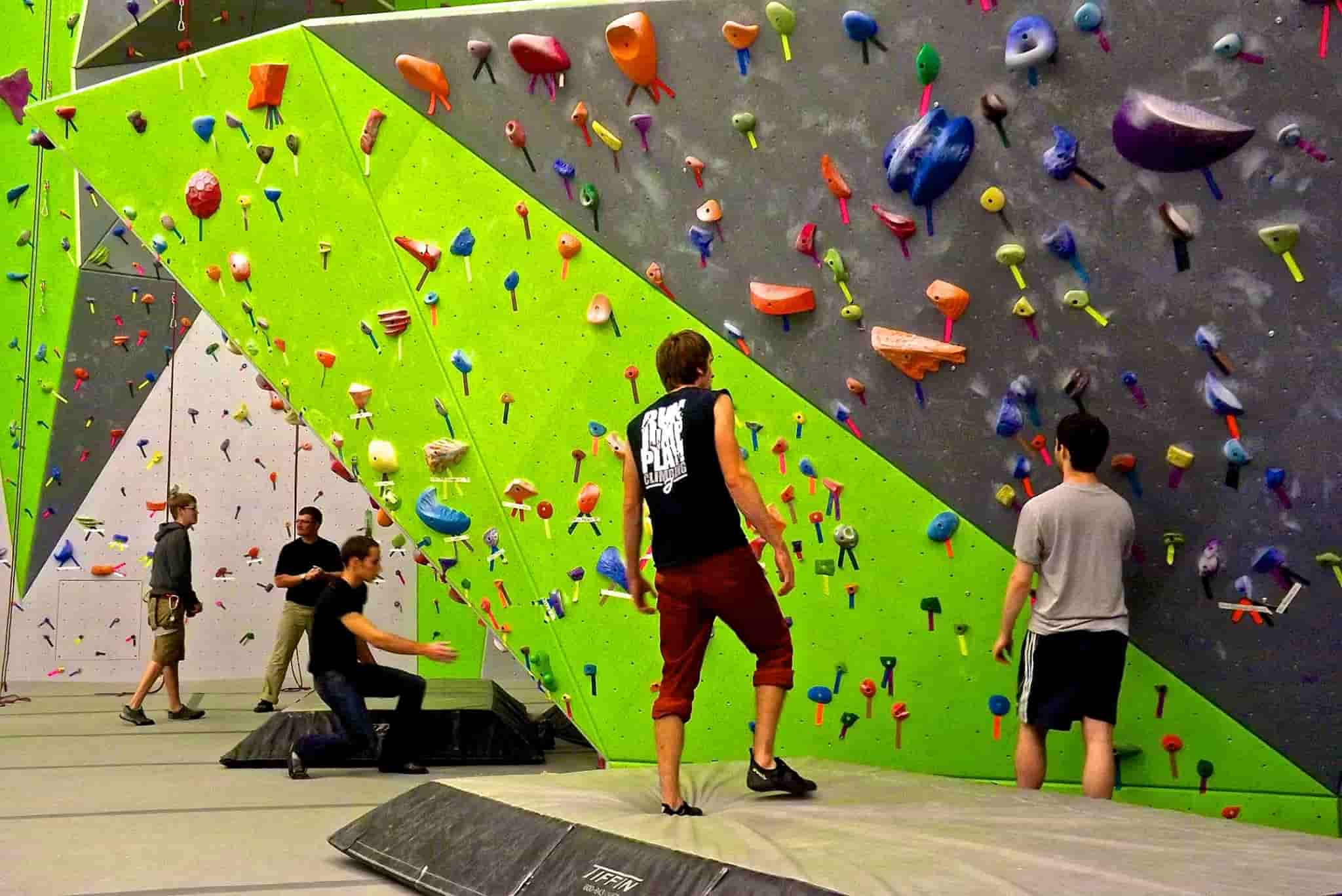 Spooky Nook Sports climbing gym