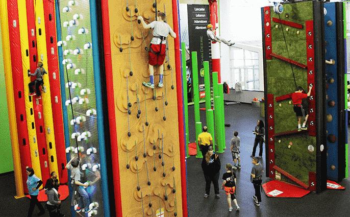 Clip 'N Climb at Spooky Nook Sports