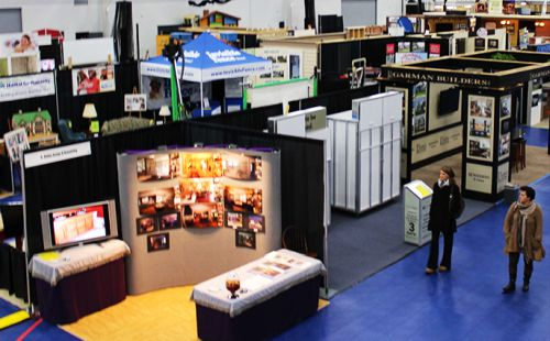 trade show booths at Nook Meetings & Events in Manheim, PA