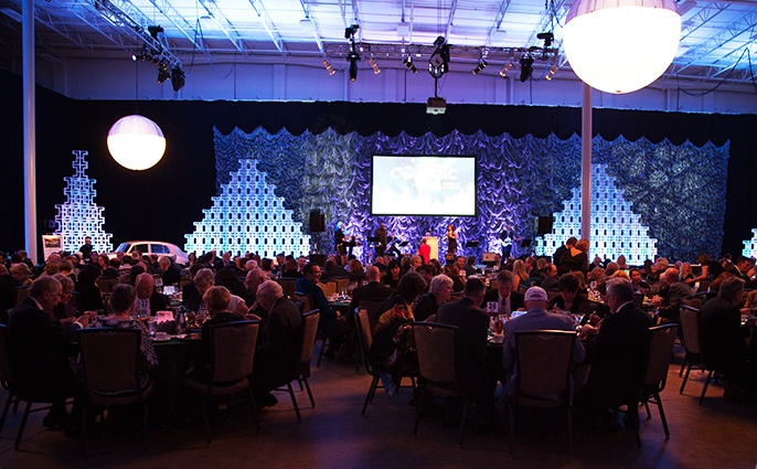 Cosmic Bash Banquet at Nook Meetings & Events