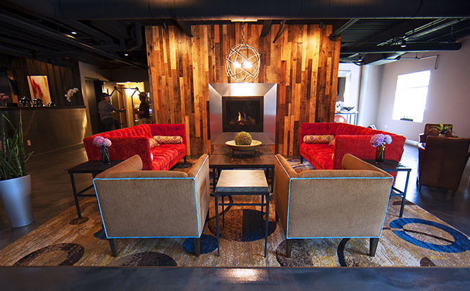 Nook Meetings at the Warehouse Hotel