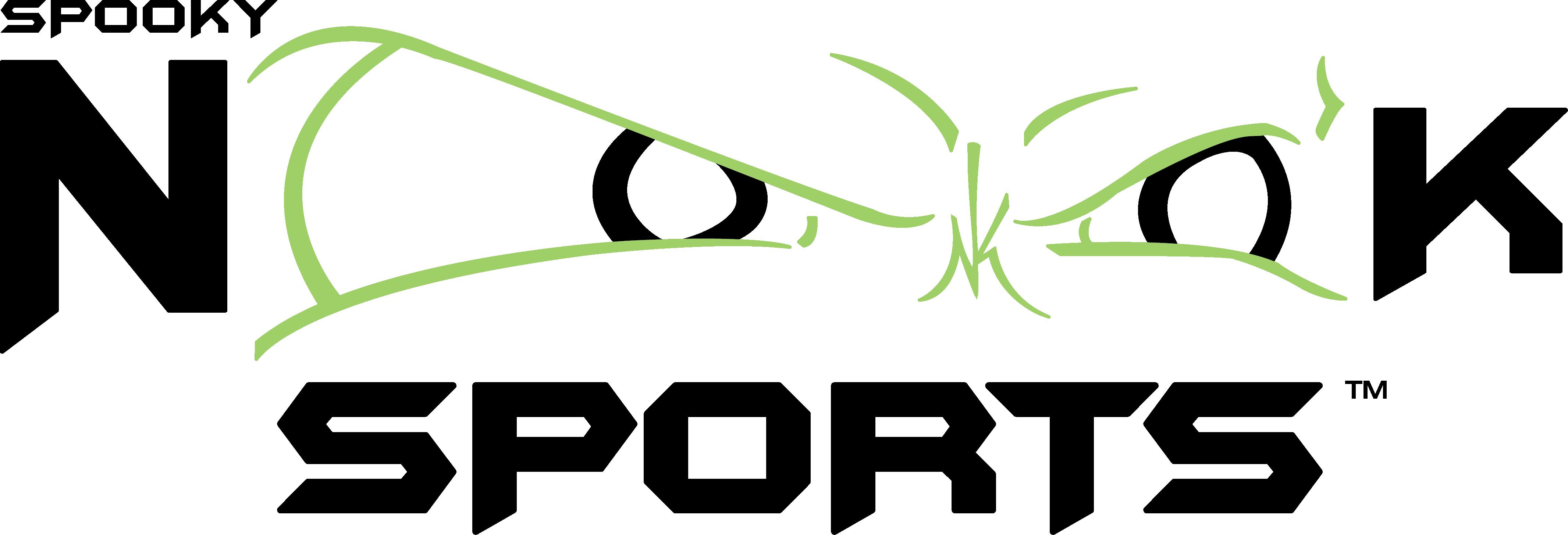 Black Spooky Nook logo
