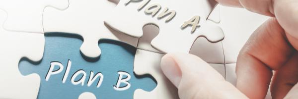 plan a puzzle piece into plan b piece