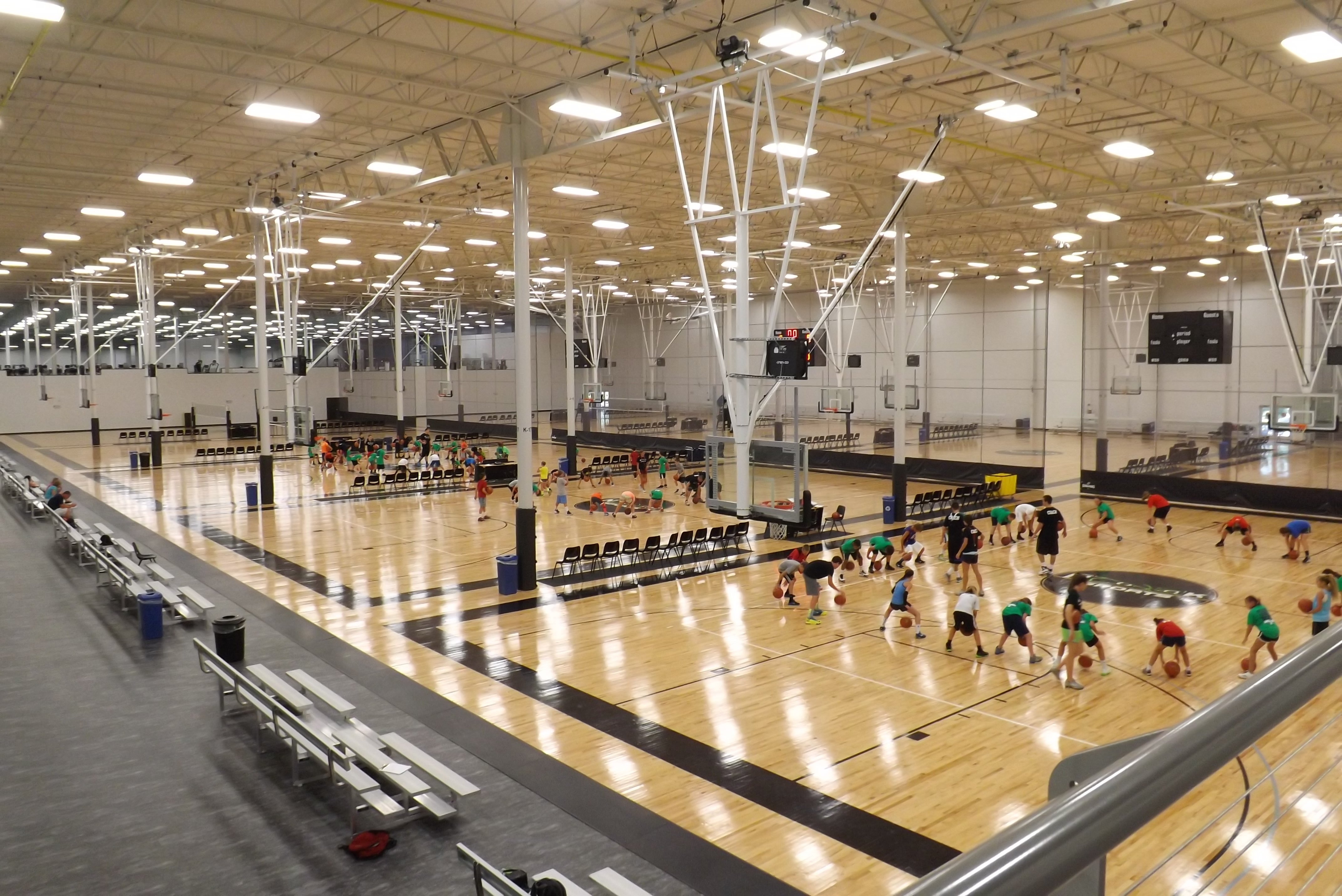 Basketball-Volleyball Courts