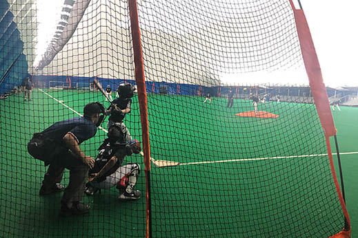 Indoor Dome Baseball