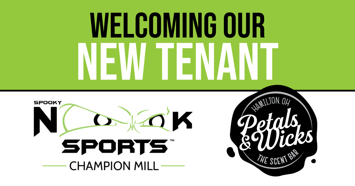 welcome new tenant petals & wicks