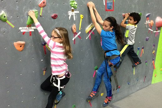 Rock Climbing Birthday
