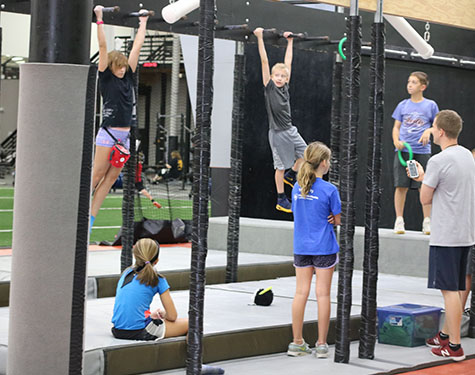 ninja warrior summer camp
