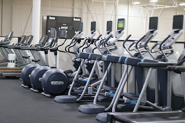 Treadmills and ellipticals