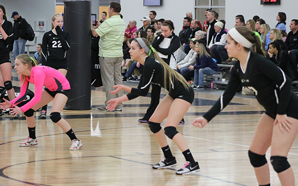 Nook position specific volleball lessons