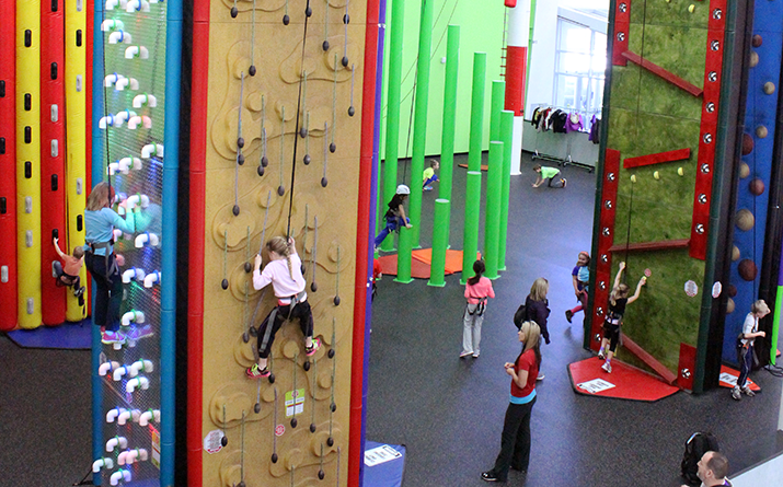 Clip 'n Climb themed birthday parties