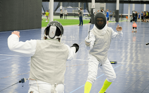 Fencing Open Bouting at the Nook