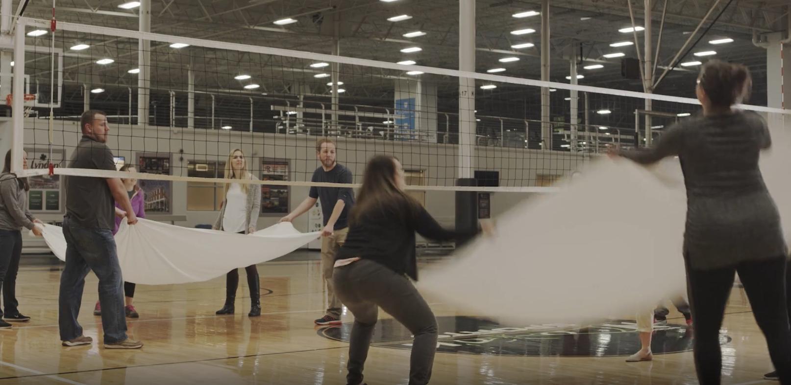 Sheet Volleyball