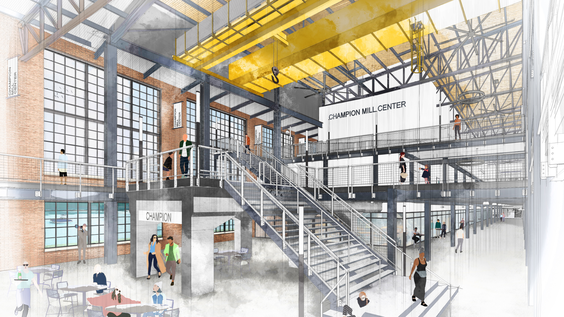 State of City 2019 Slide Deck_0010_Champion Mill No. 2 - Renderings Meetings