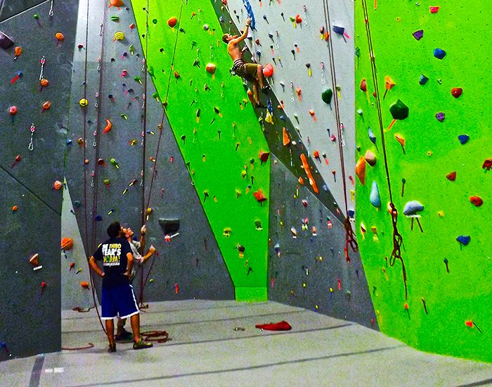 Nook Climbing Top Rope Tech Lesson