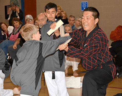 Martial Arts Instructors at the Nook